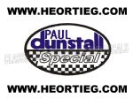 Paul Dunstall Special Tank and Fairing Transfer Decal DDUN4-2
